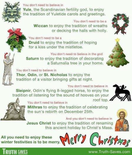 pagan christmas