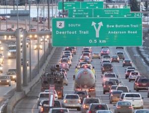 deerfoot traffic