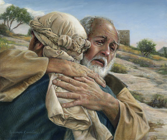 prodigal son luke 1511 35 essay The prodigal son story in luke 15:11-32, also known as the lost son parable, is a poignant demonstration of the loving, forgiving heart of god.