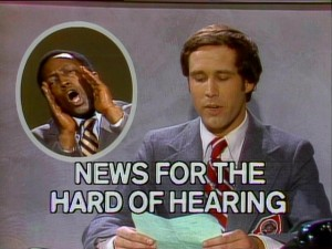 Our top story tonight: Generalissimo Francisco Franco is still dead. (Classic SNL from 1975)