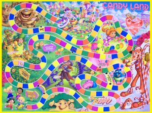 Candyland: perhaps the most painful game (for adults) ever invented.