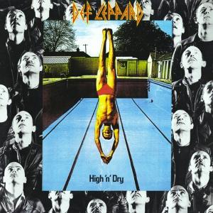 Def Leppard's 1981 album, High  'n' Dry.