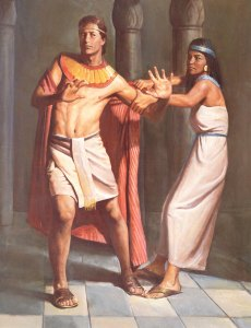 Joseph spurns the advances of his boss's wife.