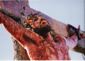 Jesus (Jim Caviezel) in The Passion of the Christ