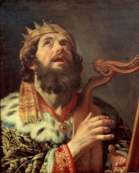 Gerard_van_Honthorst_-_King_David_Playing_the_Harp_-_Google_Art_Project
