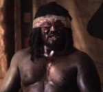 Actor Nonso Anozie as Samson in The Bible miniseries.