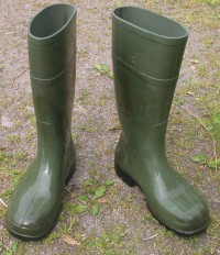 Clean rubber boots. Whats the point?