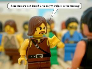 From the Brick Testament album, Instant Fluency
