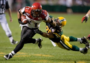 Not that Im saying the Stampeders are Jesus team and the Eskimos are Satans. Not that Im not saying that, either.