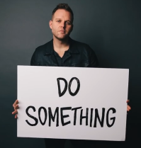 'He said, I did: I created you!' declares Christian rocker Matthew West.