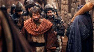 Saul (Emmett J Scanlan in the A.D.: The Bible Continues miniseries) was an infamous persecutor of Christians prior to his encounter with Christ on the Road to Damascus. In the decades that followed, he was often the persecutee.