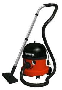Meet Henry the Vacuum Cleaner, known in Germany as Heinrich der Staubsauger.