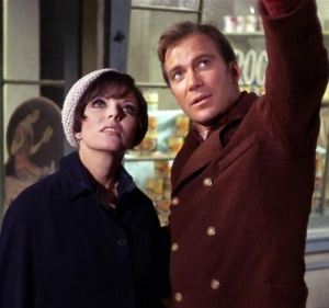 James T. Kirk William Shatner falls for Edith Keeler a young Joan Collins in The City on the Edge of Forever, said by many to be the best of the original Star Trek episodes.