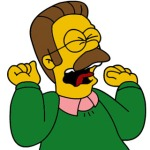Sad Ned-flanders