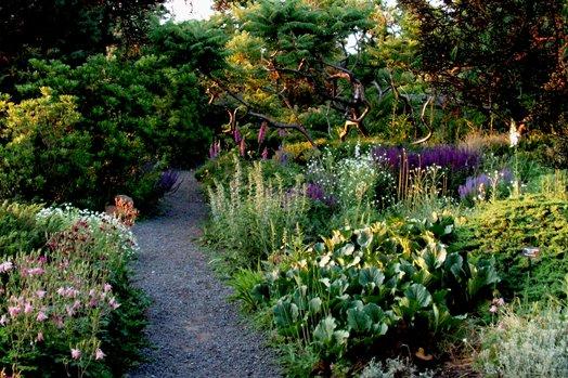 The Wave Hill Public Garden in Bronx, NY is described as a wild garden.