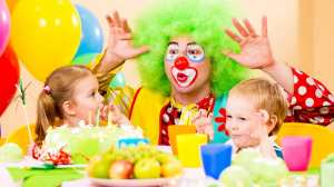 Would children in the developing world be jealous, or grateful, that clowns at their birthday parties are a rarity?