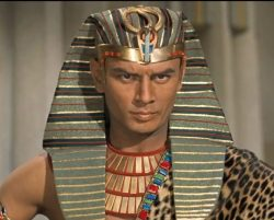 Yul Brynner as Rameses II in The Ten Commandments 1956