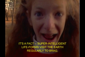 The 'It's a Fact!' girl was one of many quirky recurring characters on The Kids in the Hall.