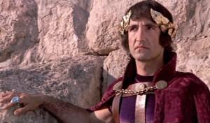 Pilate (Barry Dennen) in the 1973 film Jesus Christ Superstar